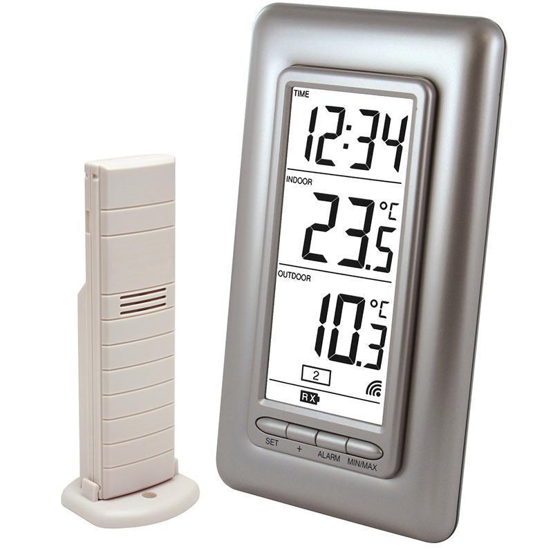 Station de température intérieur/extérieur WS9162 grise