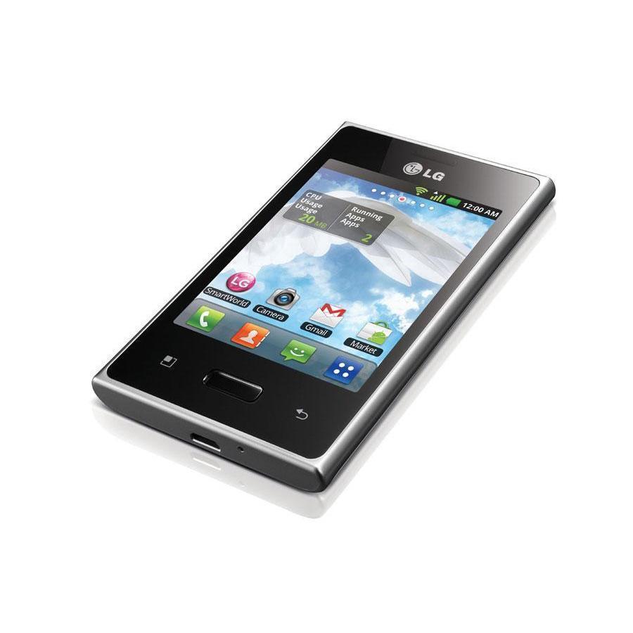LG Optimus L3 1Go - Noir - Débloqué