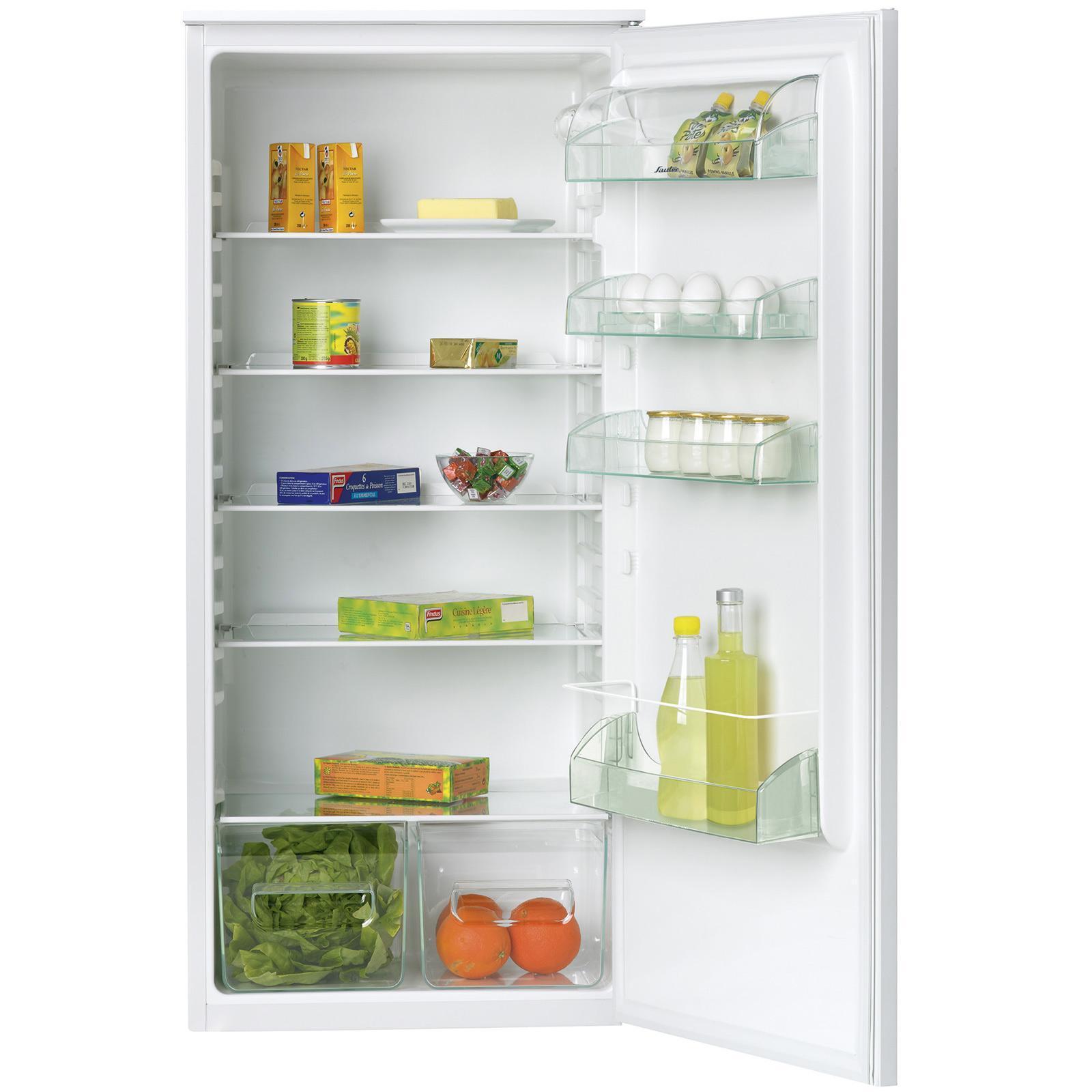 Réfrigérateur simple porte encastrable - Sauter - SLA222