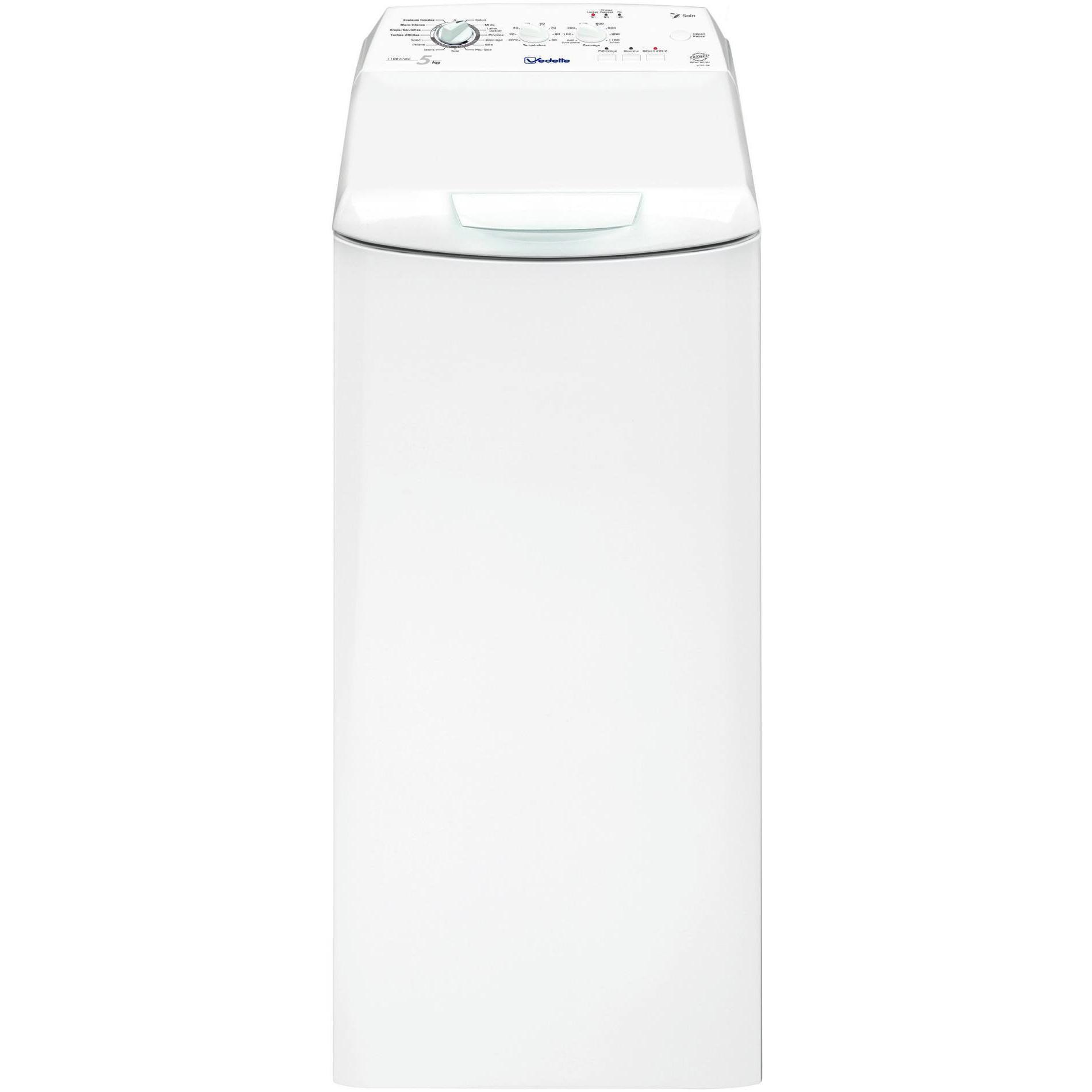 Lave-linge - Vedette - VLT5210W