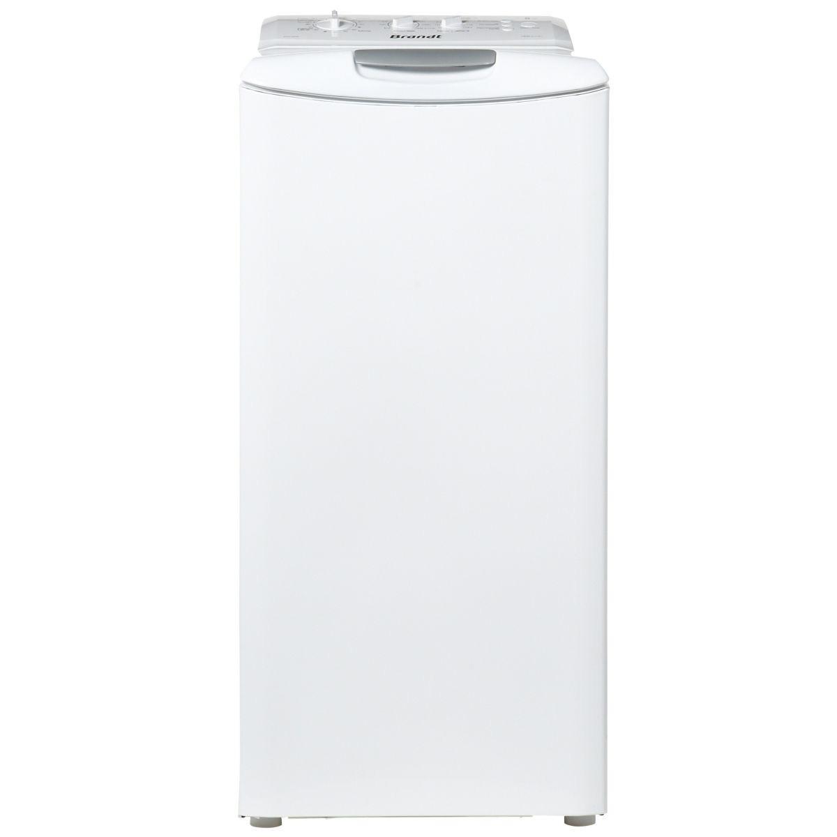 Lave-linge top 5kg - 40cm - Classe A+ - 1200 trs/min -départ différé WTC0122FW