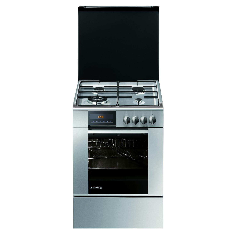 Cuisinière 4 feux gaz - Four 50L - Classe A - Inox - DCM1050X