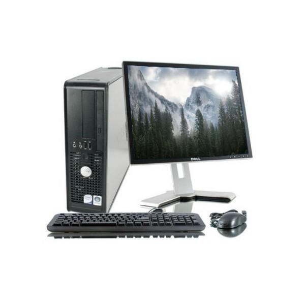 "DELL OPTIPLEX 755 SFF 19"" Intel Celeron 1.8 Ghz  Hdd 2 To Ram 2 Go"