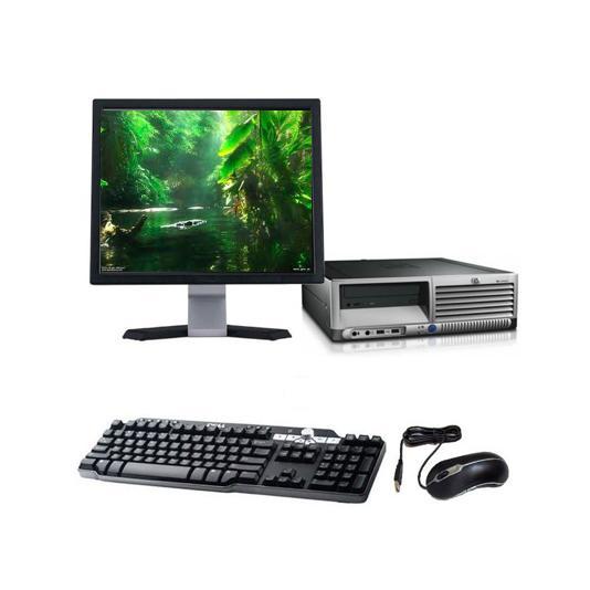 Hp Compaq DC7700p SFF - Intel Core 2 Duo 1.86 GHz - HDD 500 Go - RAM 4GB Go