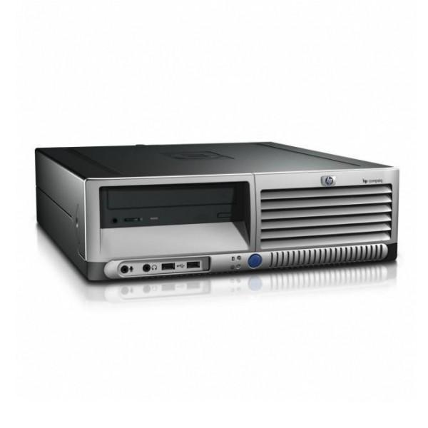 Hewlett Packard HP Compaq DC7600 SFF  Intel Pentium 4 2.8 GHz  - HDD 500 Go - RAM 2 Go