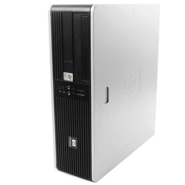 """HP Compaq DC5750 SFF 19"""" AMD Sempron 2 GHz  - HDD 80 Go - RAM 4 Go"""