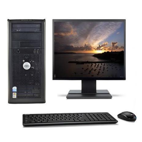 """Dell Optiplex 320 MT 17"""" Intel Celeron 3.06 GHz  - HDD 80 Go - RAM 1 Go"""