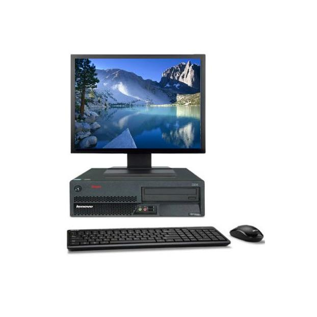 "IBM Lenovo M55 8810 19"" Intel Core 2 Duo 1.8 GHz  - HDD 250 Go - RAM 2 Go"