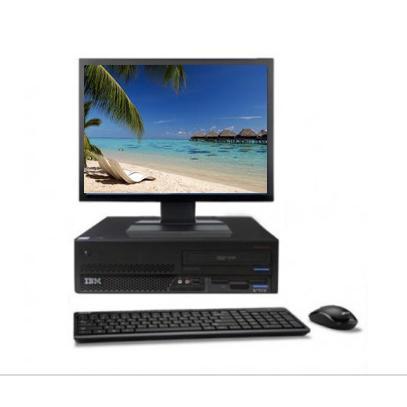 "IBM M52 8213 17"" Intel Pentium 4 3 GHz  - HDD 2 To - RAM 2 Go"