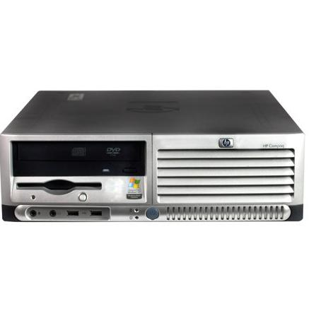Hewlett Packard HP DC7100 SFF  Intel Pentium 4 2.8 GHz  - HDD 2 To - RAM 2 Go