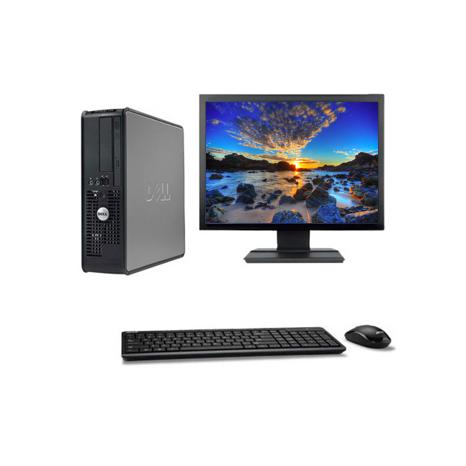 "DELL Optiplex 380 SFF 19"" Intel Pentium D 2.8 GHz  - HDD 500 Go - RAM 4 Go"