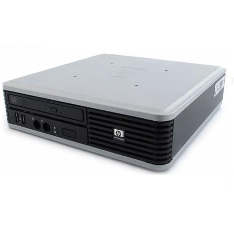 Hp Compaq DC7800P USFF - Intel Core 2 Duo 2.8 GHz - SSD 240 Go - RAM 4GB Go