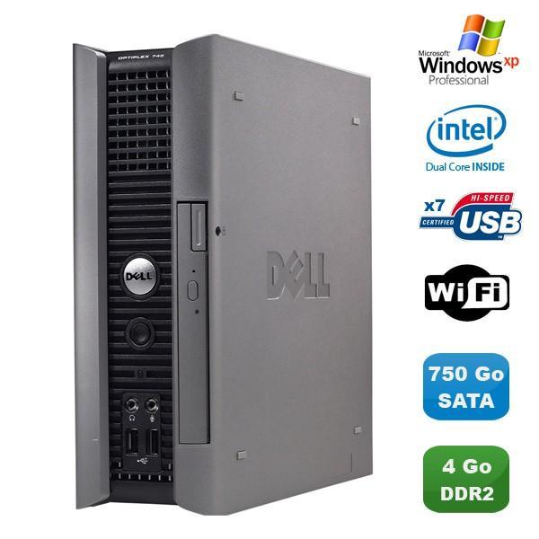Dell Dell Optiplex 745 usff - Intel Pentium D 2.8 GHz - HDD 750 Go - RAM 4GB Go