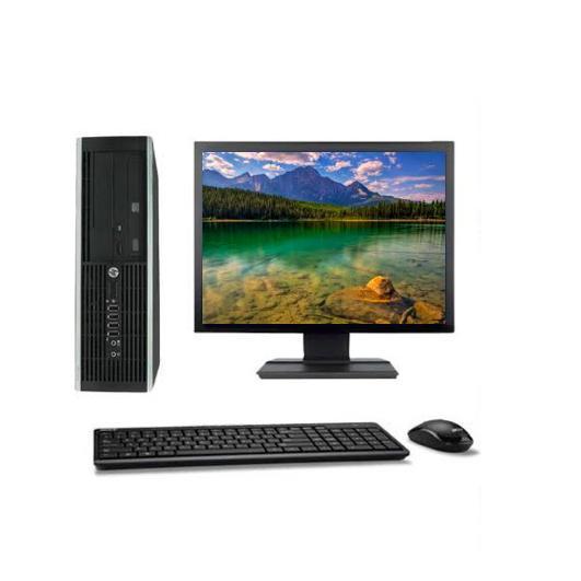 """Hp Compaq Elite 8100 SFF 19"""" Intel Core I5 3.2 GHz  - HDD 250 Go - RAM 8 Go"""