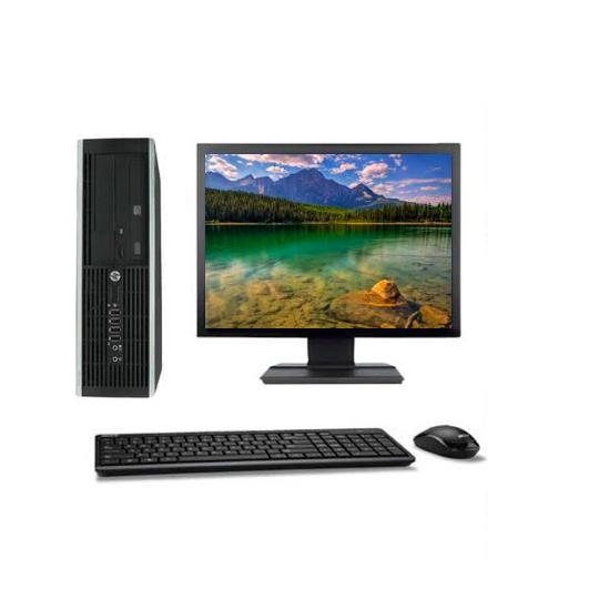 "Hp Compaq Elite 8100 SFF 22"" Intel Core I5 3.2 GHz  - HDD 250 Go - RAM 8 Go"