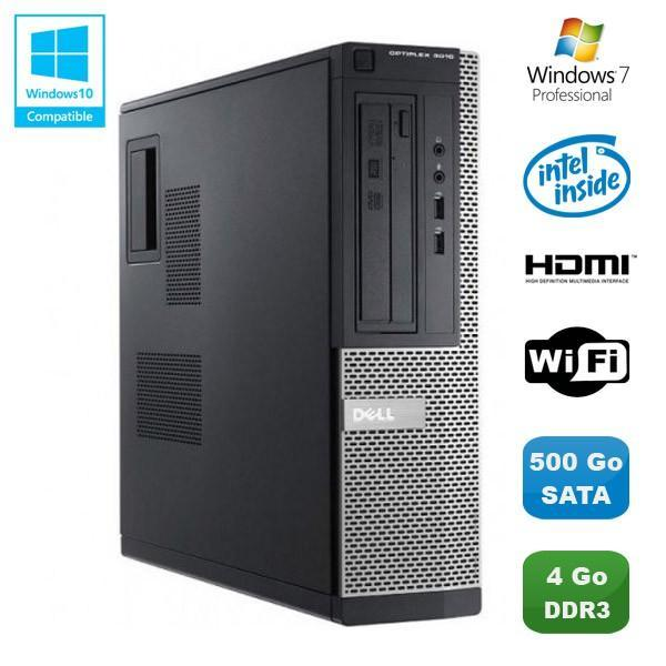 Dell Optiplex 3010 DT - Intel Pentium G640 2.8 GHz - HDD 500 Go - RAM 4GB Go
