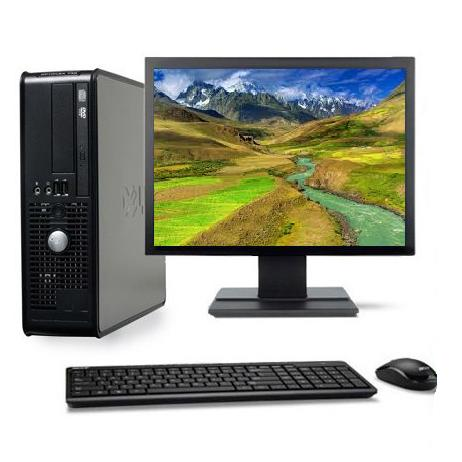 "Dell Optiplex 740 SFF 17"" AMD Athlon 2.7 GHz  - HDD 250 Go - RAM 4 Go"