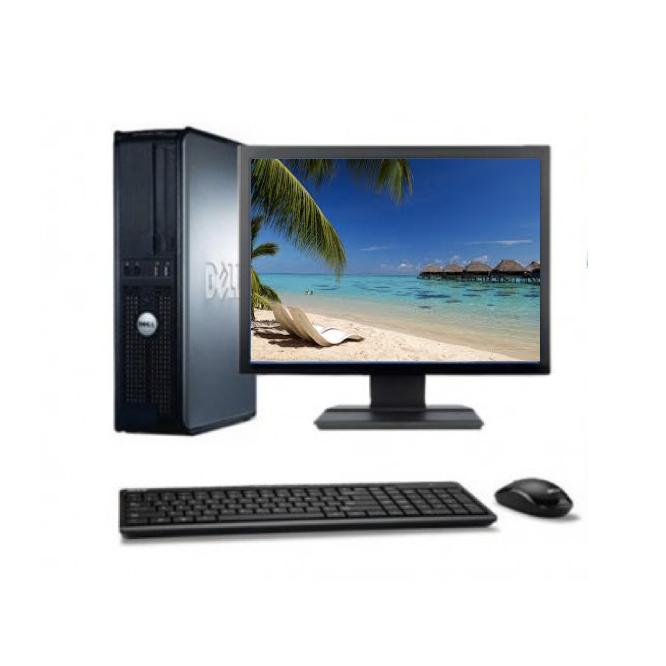 "Dell Optiplex 740 SFF 17"" AMD Athlon 2.7 GHz  - SSD 240 Go - RAM 8 Go"
