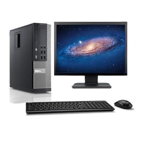 """Dell Optiplex 790 SFF 17"""" Intel Pentium G 2.8 GHz  - HDD 160 Go - RAM 8 Go"""
