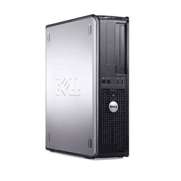 Dell Optiplex 380 DT  Intel Core 2 Duo 2.9 GHz  - HDD 250 Go - RAM 4 Go