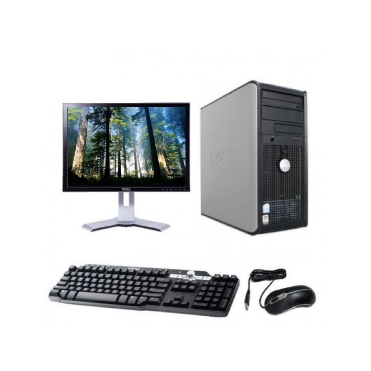 "Dell Optiplex GX620 Tour 17"" Intel Pentium D 2.8 GHz  - HDD 160 Go - RAM 2 Go"