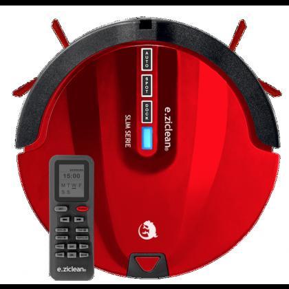 Aspirateur robot E.ZICLEAN ultra slim red +
