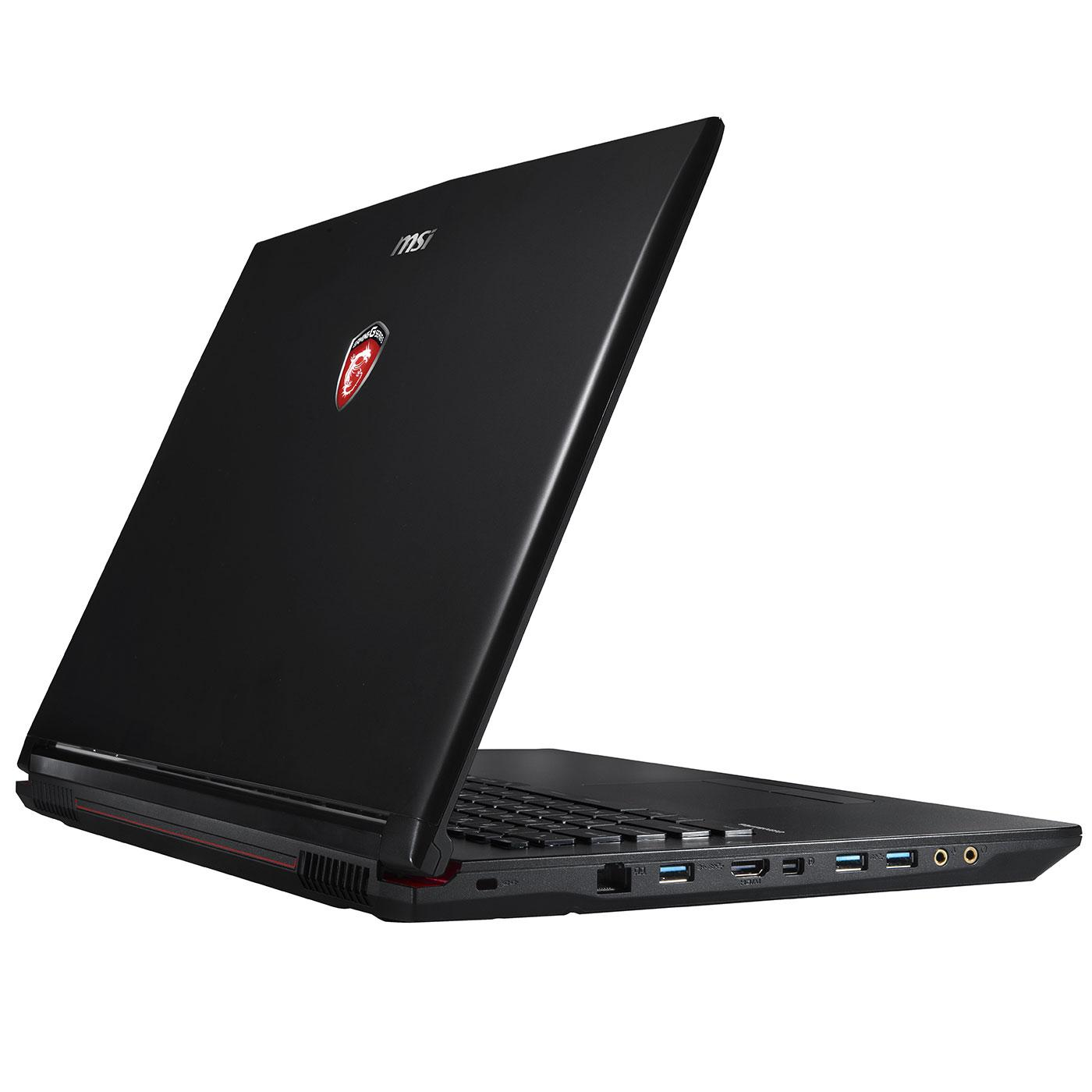 Msi GP72 2QD-018FR - I7 2,7 GHz - HDD + SSD 1000 Go - RAM 8 Go - AZERTY
