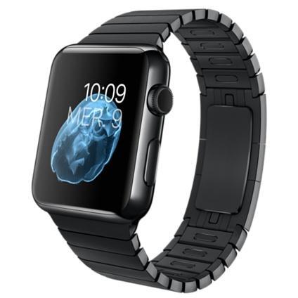Apple Watch 42 mm, Bracelet à Maillons - Noir