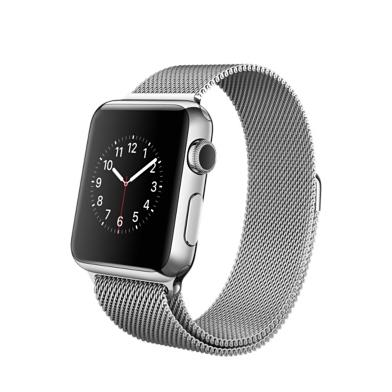 Apple Watch 38mm - Silber - Milanaise Armband
