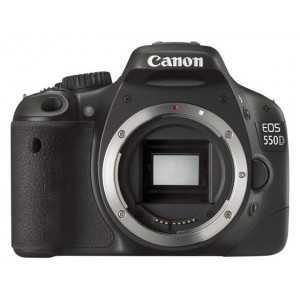 Canon EOS 550D nu - Noir