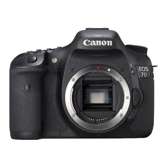 Canon EOS 7D Nu - Schwarz