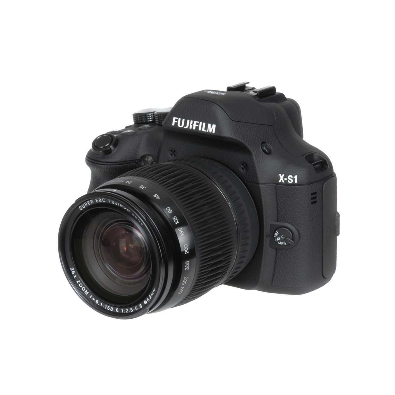 Fujifilm X-S 1 - Schwarz