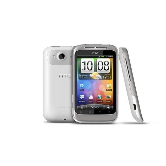 HTC Wildfire S - Silber/Weiß - Ohne Vertrag