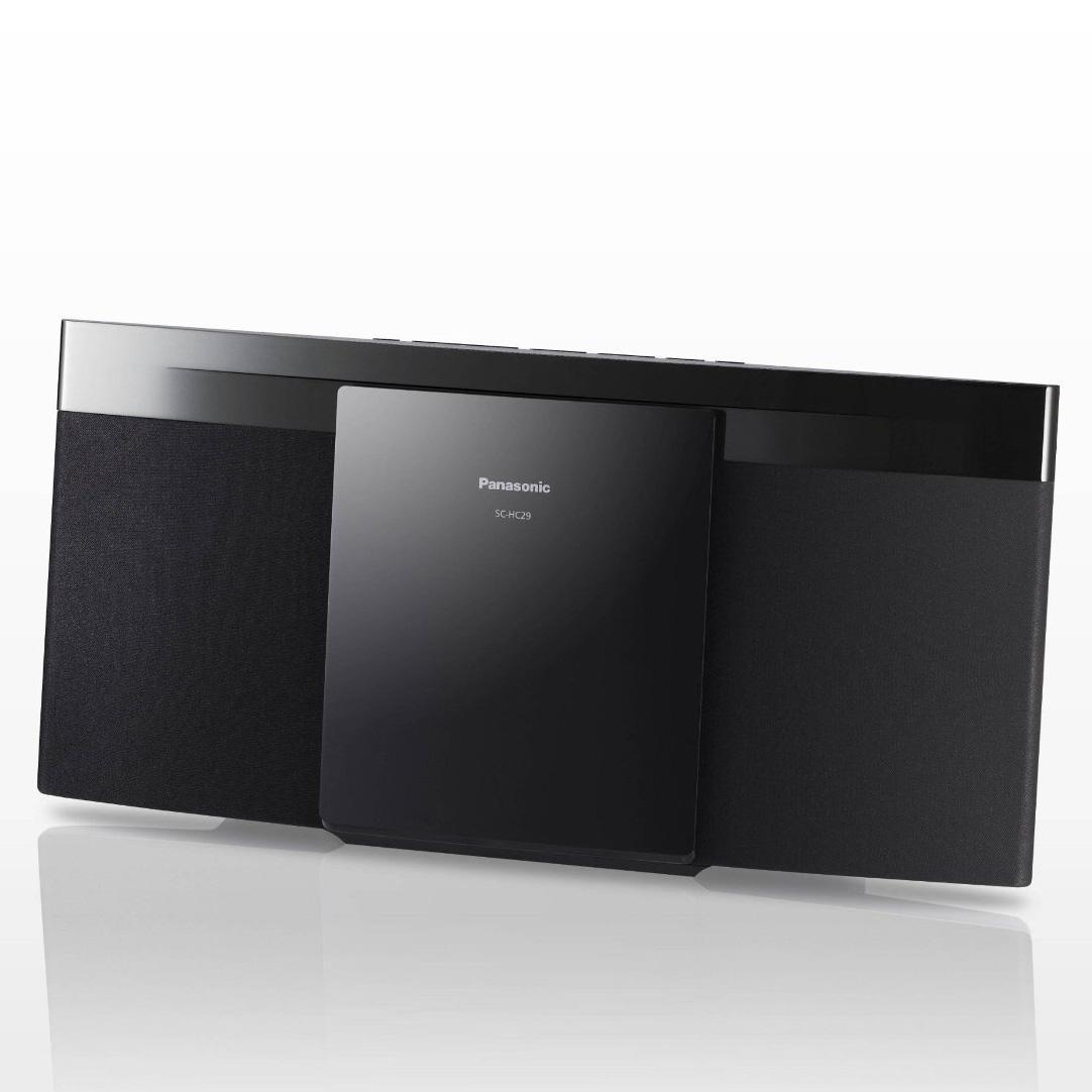 Micro-chaîne stéréo Panasonic SC-HC29 - Noir