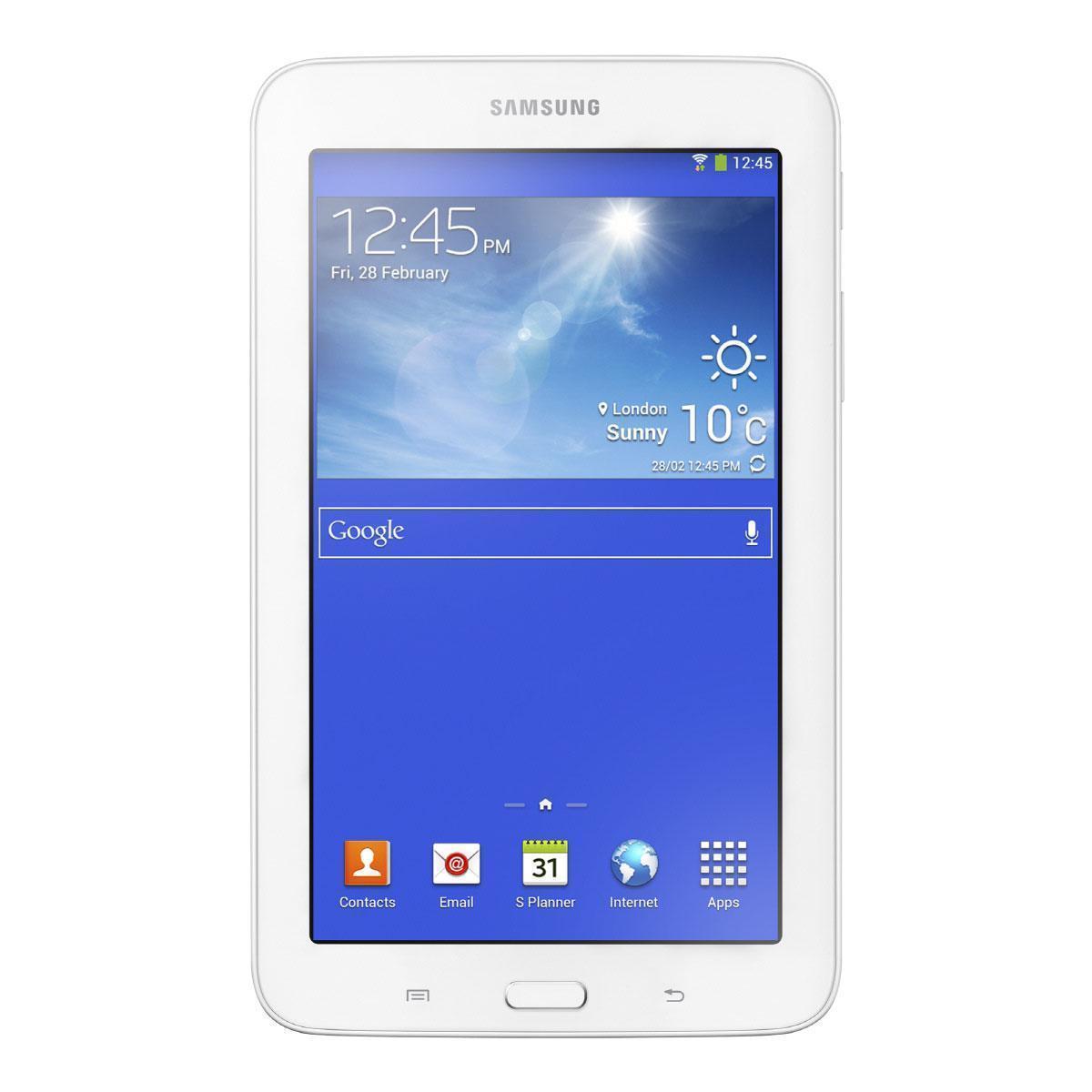 """Samsung SM-T2100ZWAXEF - 7"""" 16 GB - Wifi - Blanco"""