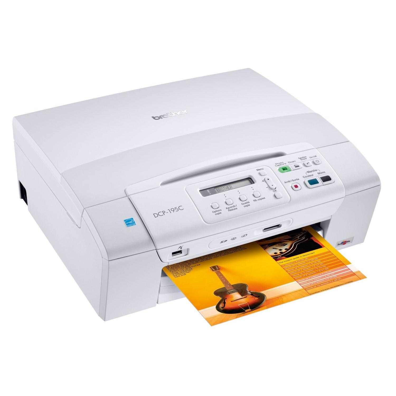 Imprimante Brother DCP-195C  jet d´encre multifonction