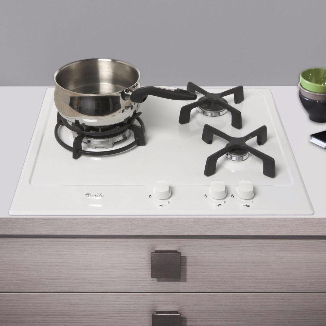 Table de cuisson gaz  encastrable 3 foyers - AKT653WH