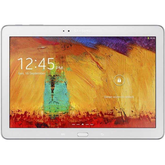 """Samsung Galaxy Note (2014) - 10"""" 16 Go -  - Blanc"""