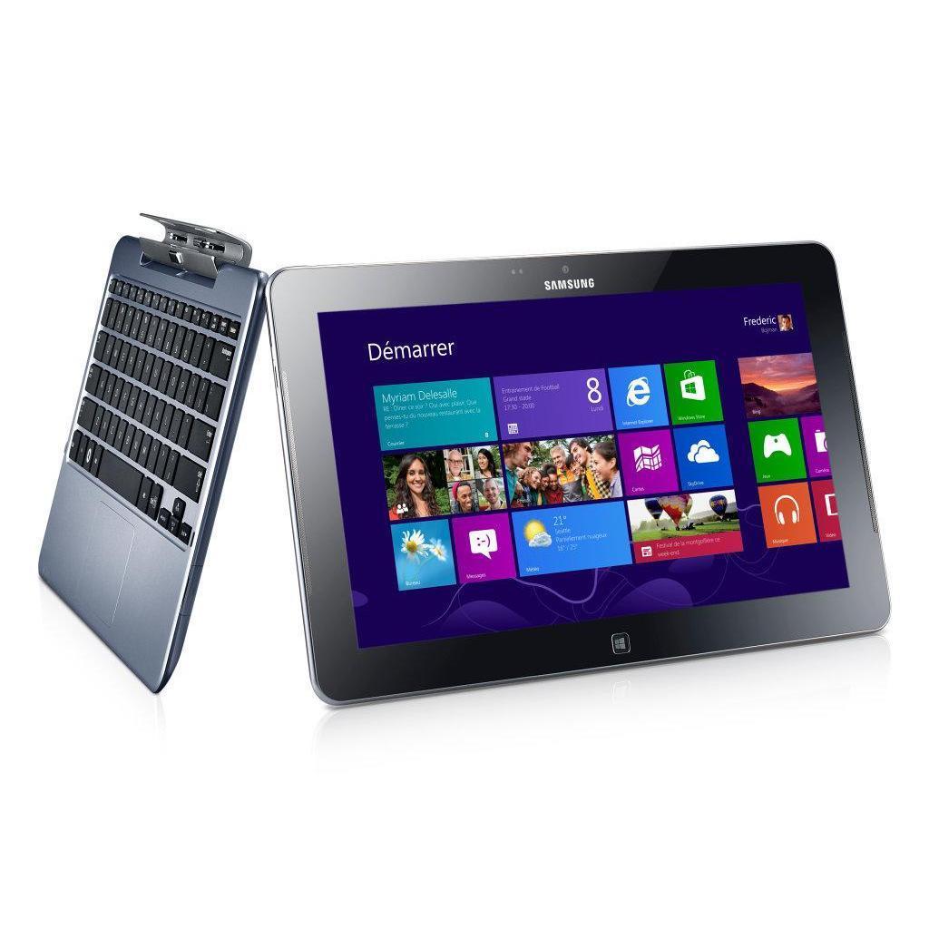 "Samsung XE500T1C-AE1AU - 11.6"" 64 Go -  - Gris"