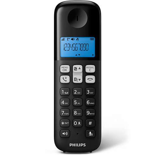 Téléphone sans fil Philips D1312B/FR