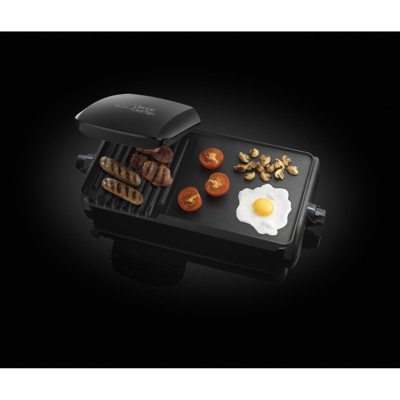 Grill - George Foreman - 18603 - Grill et plancha family réducteur de graisse 10 portions