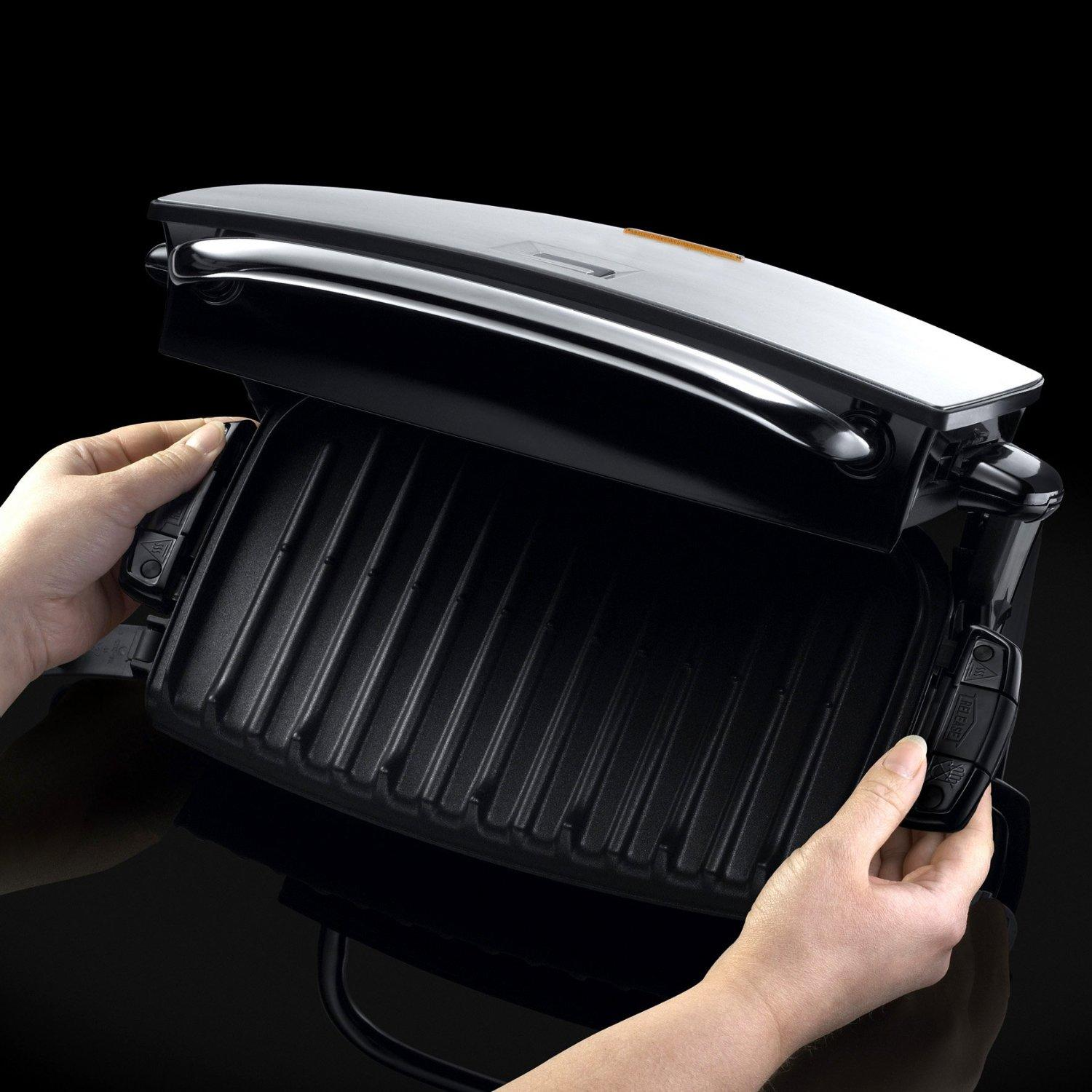 Grill - George Foreman - 14525 - réducteur de graisse 4 portions