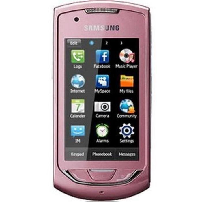 Samsung Player Star 2 S5620 - Rose - Débloqué