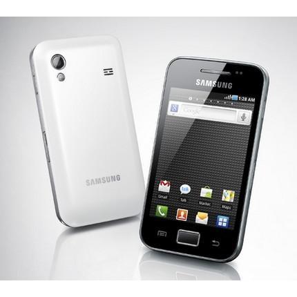 Samsung Galaxy Ace S5830 - Noir ( coque arrière blanche ) - Débloqué
