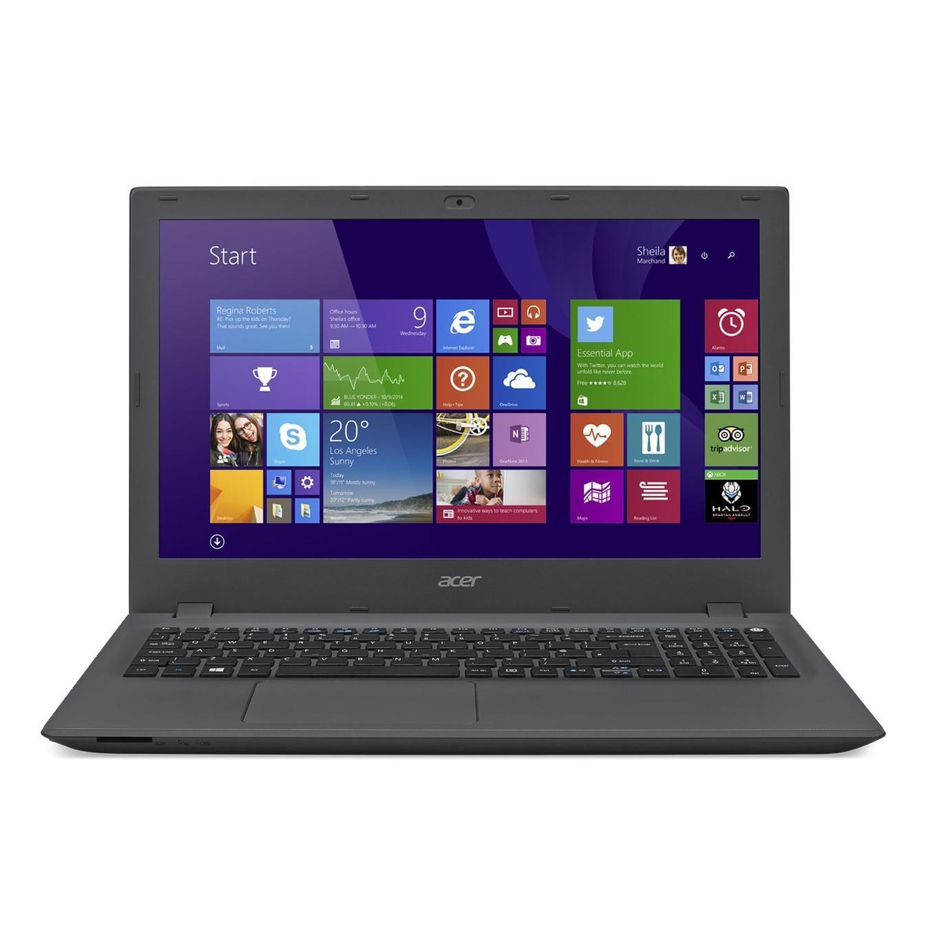 """Acer Aspire E5-573T-P0VK 15,6"""" Intel Pentium 3556U 1.7 GHz  - HDD 1 To - RAM 4 Go"""