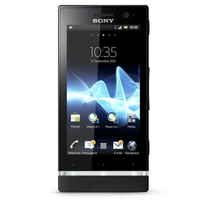 Sony Xperia U 4 Go - Noir - SFR