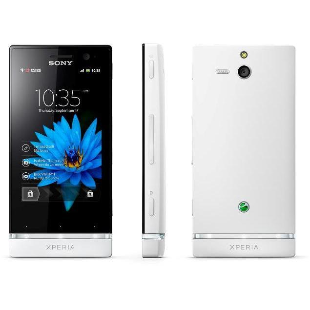 Sony Xperia U 4 Go - Blanc - SFR
