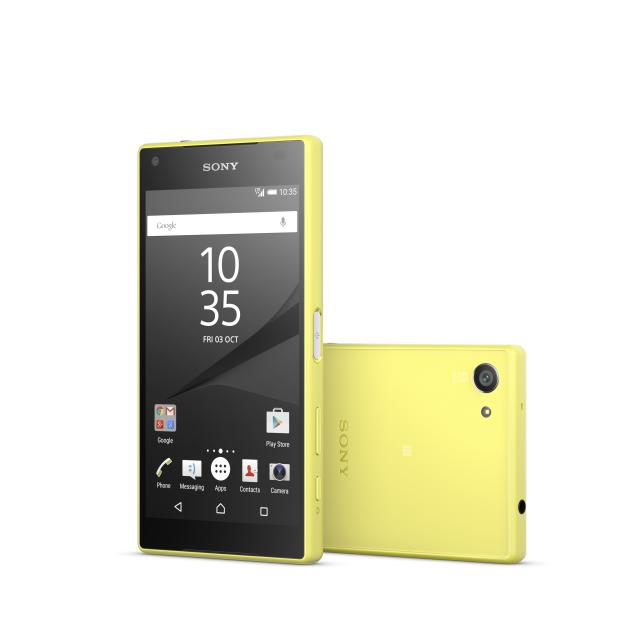 Sony Xperia Z5 Compact 32 GB - Gelb- Ohne Vertrag