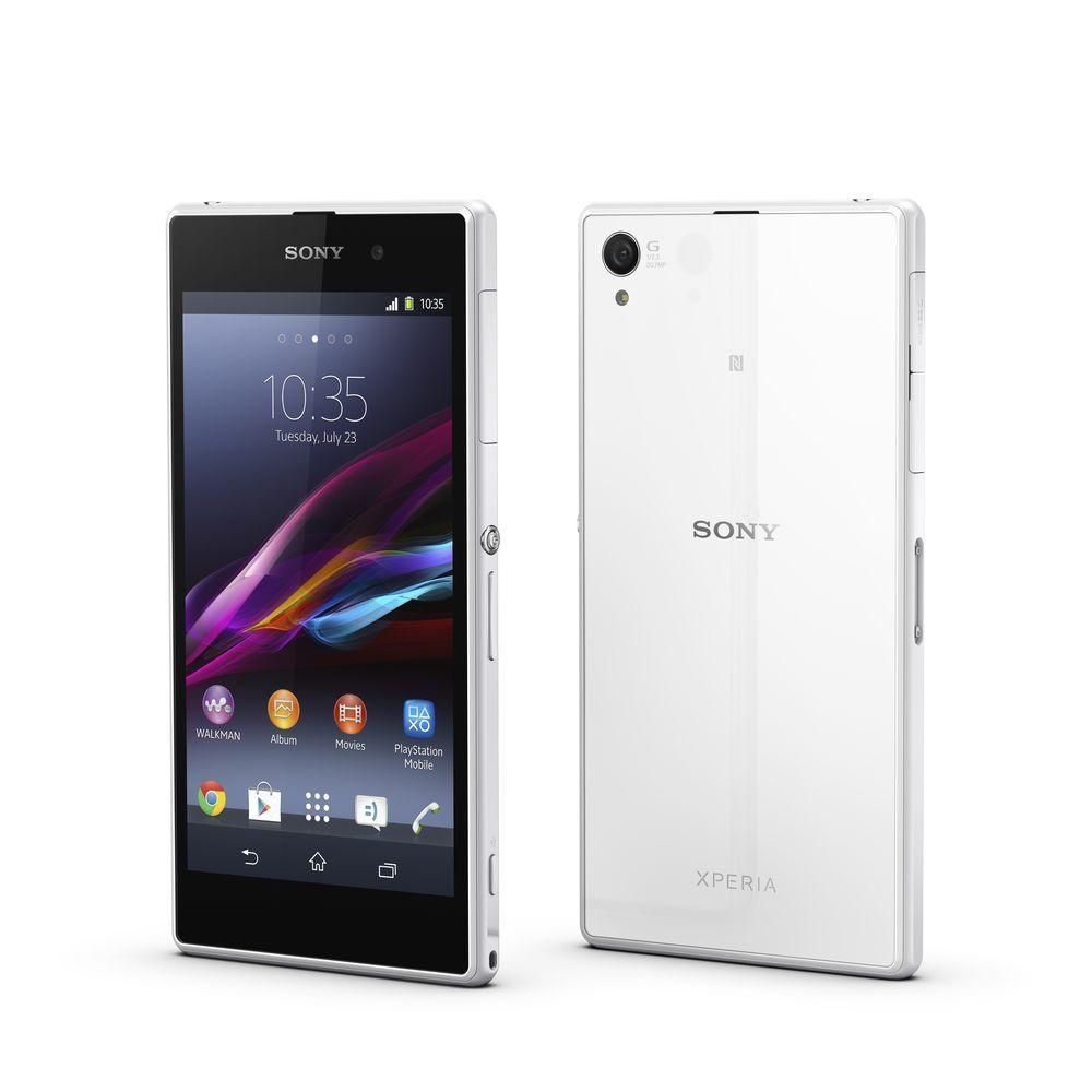 Sony Xperia Z1 16 Go - Blanc - Orange