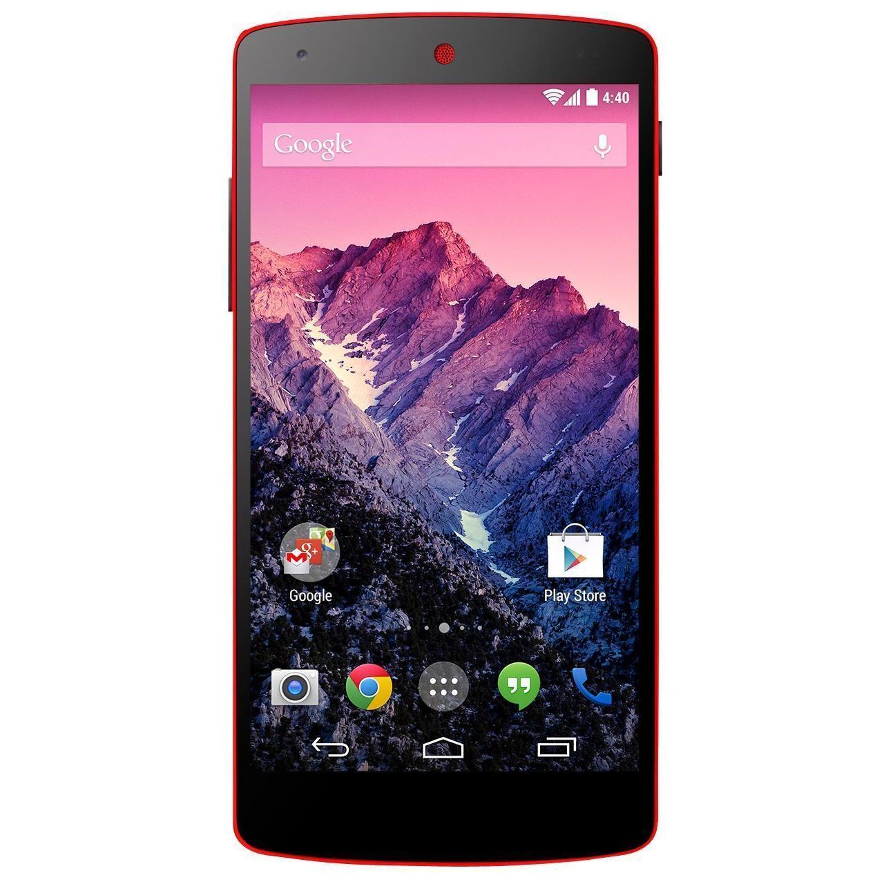 LG Nexus 5 32 Go - Rouge - Débloqué